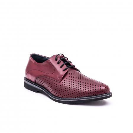 Pantof casual barbat 181591 bordo0