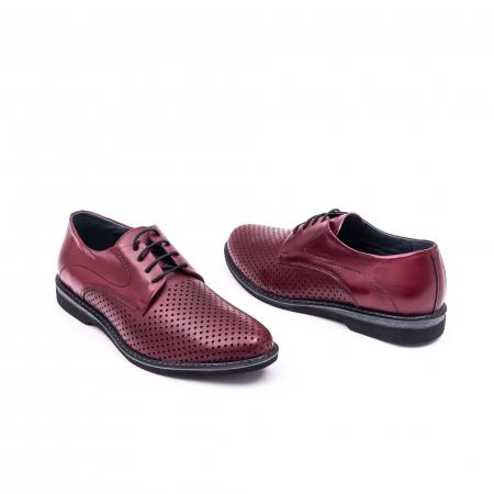 Pantof casual barbat 181591 bordo3