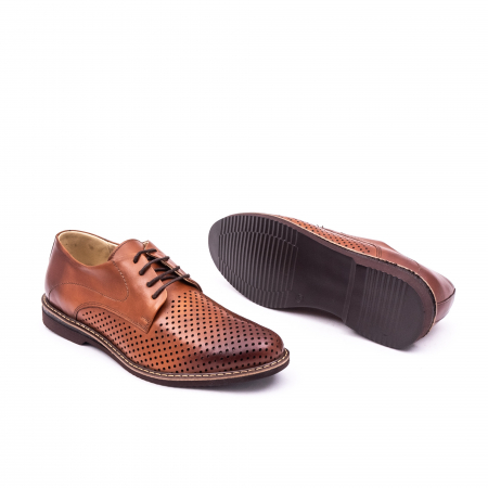 Pantof casual barbat 181591 coniac2