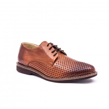Pantof casual barbat 181591 coniac0