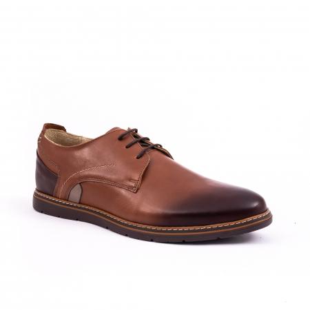 Pantof casual barbat 191523 coniac0