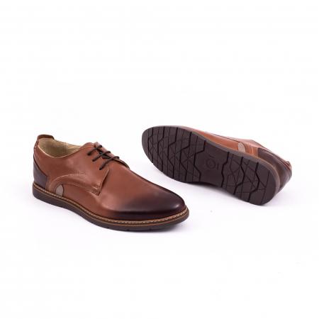 Pantof casual barbat 191523 coniac2