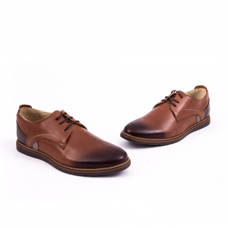 Pantof casual barbat 191523 coniac1