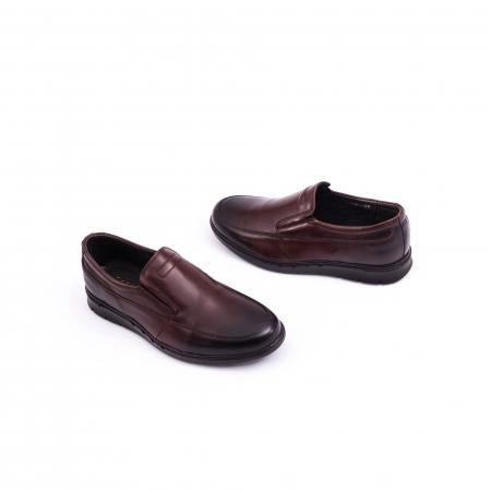 Pantof casual barbat 191525CR maro1