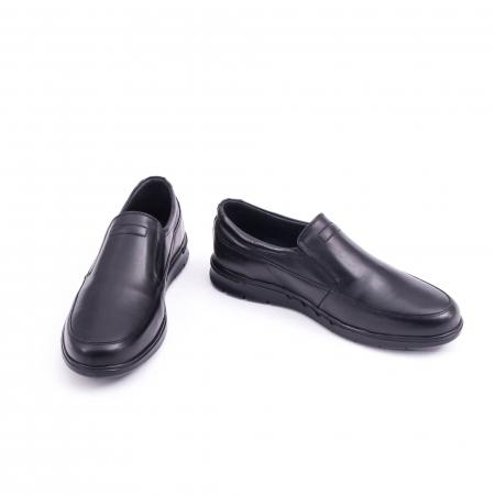 Pantof casual barbat 191525CR negru4