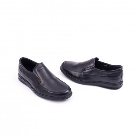 Pantof casual barbat 191525CR negru1