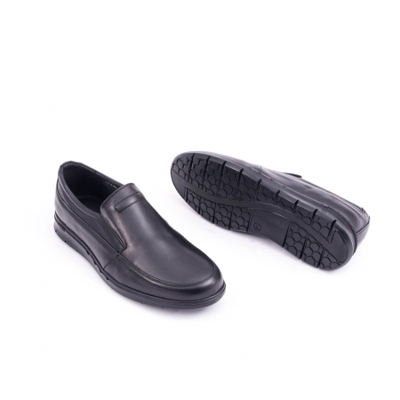 Pantof casual barbat 191525CR negru3