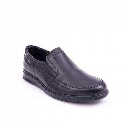 Pantof casual barbat 191525CR negru0