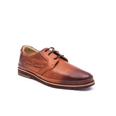 Pantof casual barbat 191536 coniac0