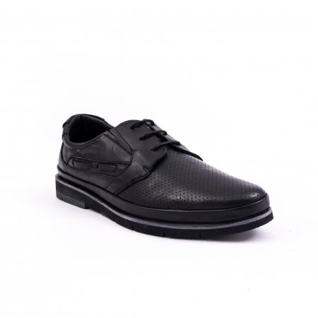 Pantof casual barbat 191536 negru0