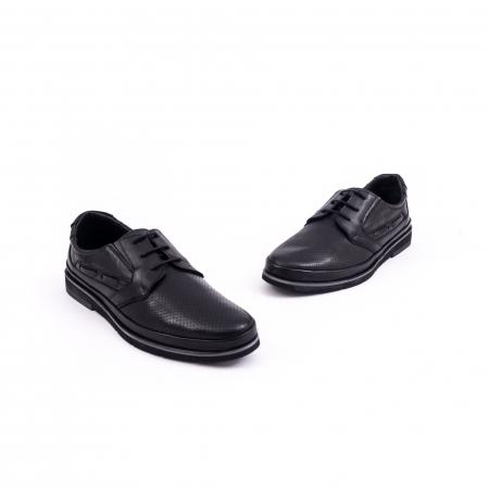 Pantof casual barbat 191536 negru1