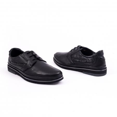 Pantof casual barbat 191536 negru [3]