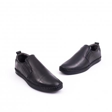 Pantof casual barbat 191543 negru1