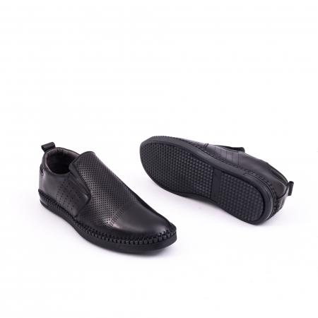 Pantof casual barbat 191543 negru2