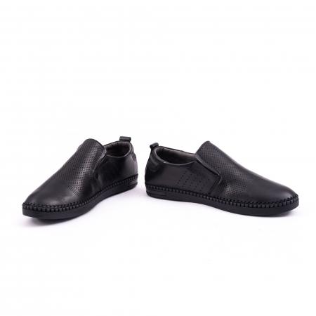 Pantof casual barbat 191543 negru4
