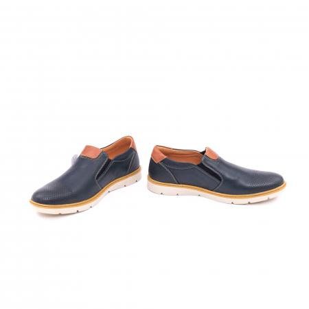 Pantof casual barbat 5916 bleumarin4
