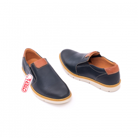 Pantof casual barbat 5916 bleumarin3