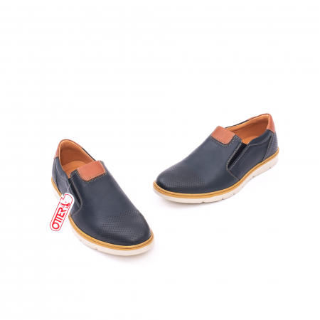 Pantof casual barbat 5916 bleumarin1