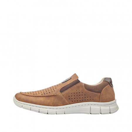 Pantofi casual din piele ecologica barbati B7766-245