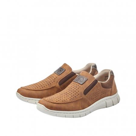 Pantofi casual din piele ecologica barbati B7766-242