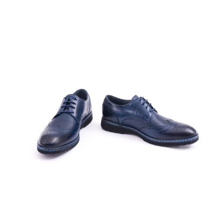 Pantof casual model Oxford CataliShoes 181584CR bleumarin4