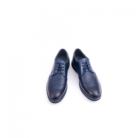 Pantof casual model Oxford CataliShoes 181584CR bleumarin5