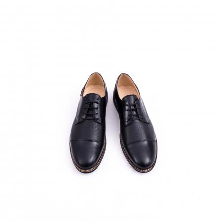 Pantof casual barbat CataliShoes 181594CR negru5