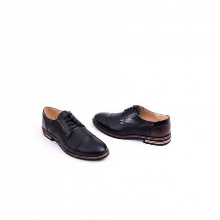 Pantof casual barbat CataliShoes 181594CR negru2