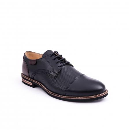 Pantof casual barbat CataliShoes 181594CR negru0