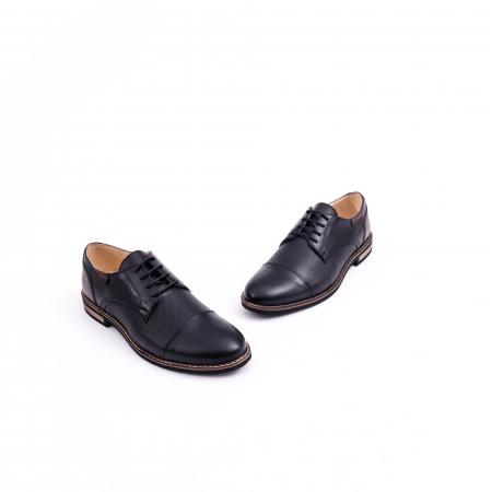 Pantof casual barbat CataliShoes 181594CR negru1