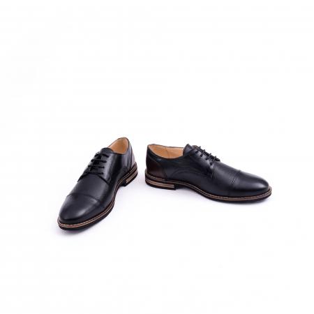 Pantof casual barbat CataliShoes 181594CR negru4