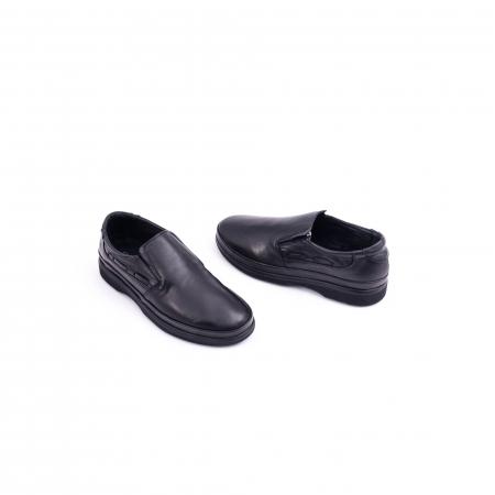 Pantof casual barbat CataliShoes 182507STAR negru3