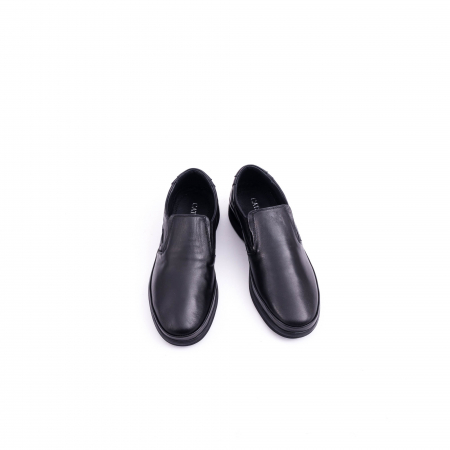 Pantof casual barbat CataliShoes 182507STAR negru5
