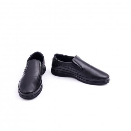 Pantof casual barbat CataliShoes 182507STAR negru4