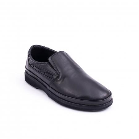 Pantof casual barbat CataliShoes 182507STAR negru0