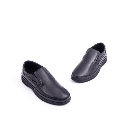 Pantof casual barbat CataliShoes 182507STAR negru1