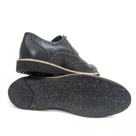 Pantof casual barbat LFX 789  negru3