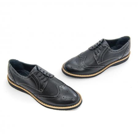 Pantof casual barbat LFX 789  negru1