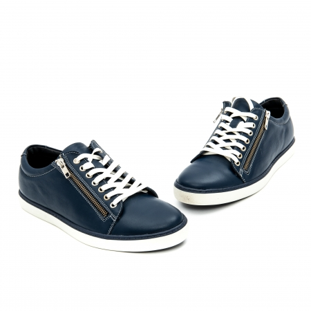 Pantof casual barbat LFX 801 bleumarin3