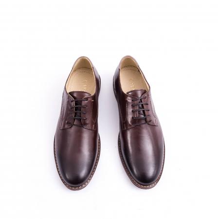 Pantof casual barbat marca CataliShoes 171534CR maro [5]