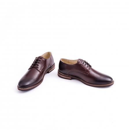 Pantof casual barbat marca CataliShoes 171534CR maro [4]