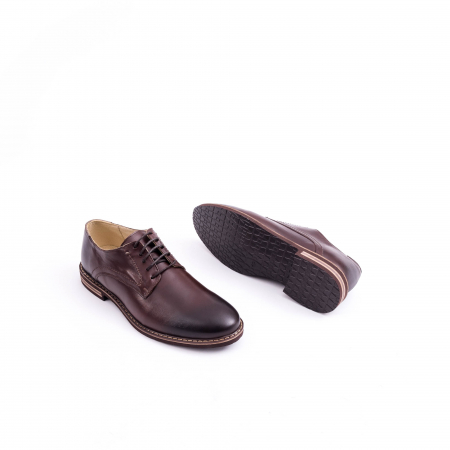 Pantof casual barbat marca CataliShoes 171534CR maro [3]