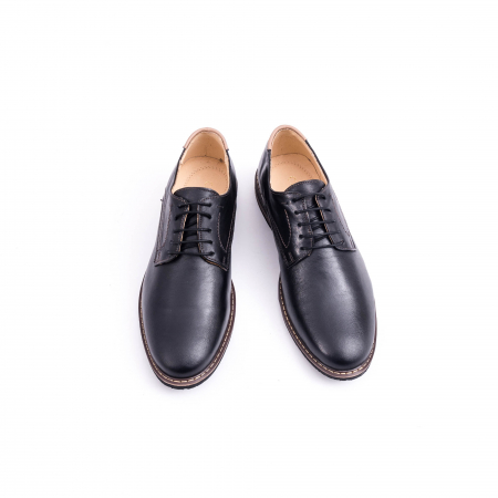 Pantof casual barbat marca CataliShoes 171534CR negru5