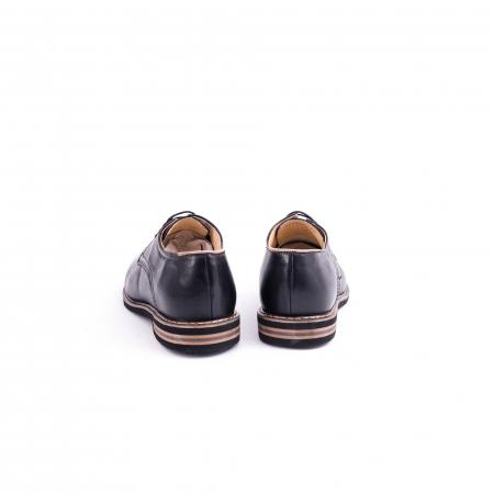 Pantof casual barbat marca CataliShoes 171534CR negru6