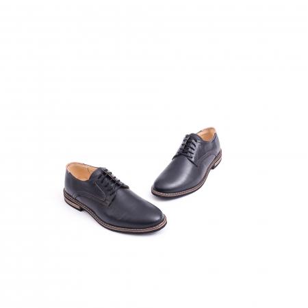Pantof casual barbat marca CataliShoes 171534CR negru1