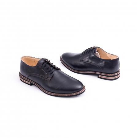 Pantof casual barbat marca CataliShoes 171534CR negru2