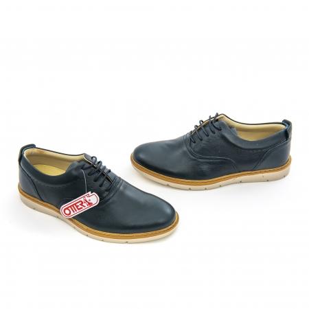 Pantofi casual barbati Otter OT 5915 navy lotus, bleumarin2