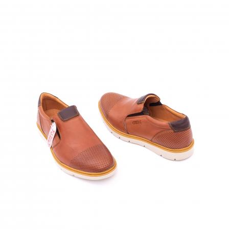 Pantofi casual barbati, piele naturala, OT 5916 coniac [2]