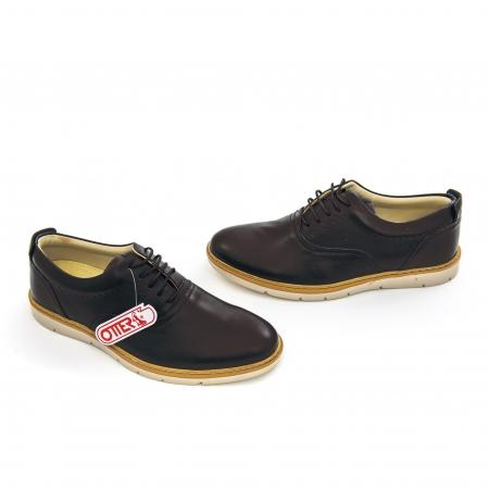 Pantof casual barbat OT 5915 black lotus2