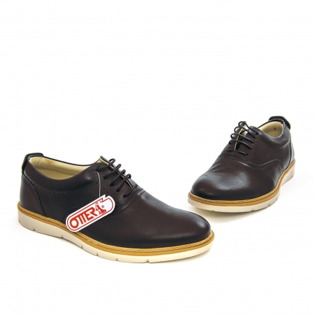 Pantof casual barbat OT 5915 black lotus1